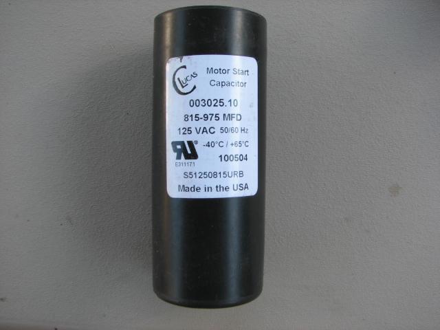 lucas motor start capacitor 125vac 50 60hz s51250815urb